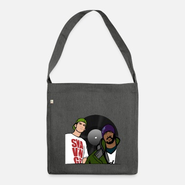 Rapper rapper - Shoulder Bag made from recycled material