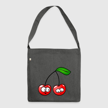 Cherry The cherries - Shoulder Bag made from recycled material