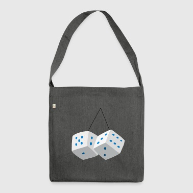 Dices- - Shoulder Bag made from recycled material