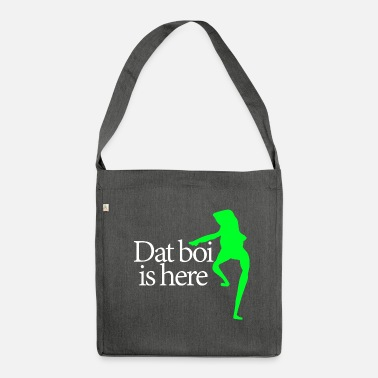 Writing Dat boi shirt white writing - men - Sac bandoulière 100 % recyclé