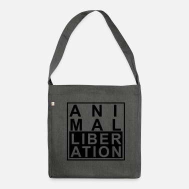Animal Animal liberation - Shoulder Bag made from recycled material