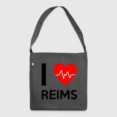 I Love Reims - I Love Reims - Shoulder Bag made from recycled material