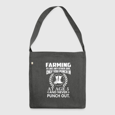 Farming agriculture - Shoulder Bag made from recycled material