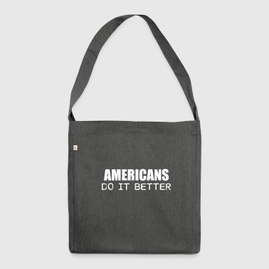 americans - Shoulder Bag made from recycled material