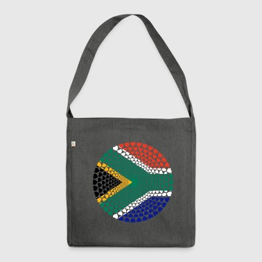 South Africa South Africa Love HERZ Mandala - Shoulder Bag made from recycled material