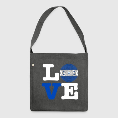 HONDURAS HEART - Shoulder Bag made from recycled material