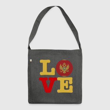 MONTENEGRO HEART - Shoulder Bag made from recycled material