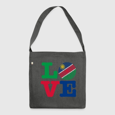 NAMIBIA HEART - Shoulder Bag made from recycled material