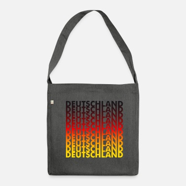 Germany Germany! Germany! Germany! - Shoulder Bag made from recycled material