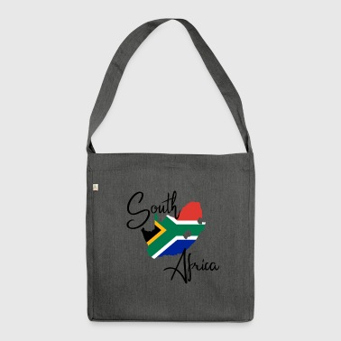 South Africa South Africa flag country - Shoulder Bag made from recycled material