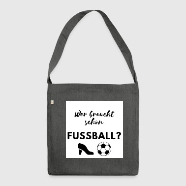 shortest Soccer World Cup Germany - Shoulder Bag made from recycled material