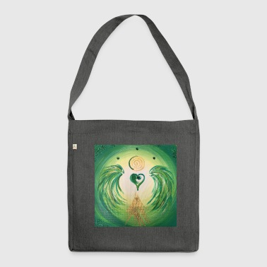 Healing Heartgel of healing - Shoulder Bag made from recycled material