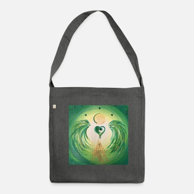 Healing Heartgel of healing - Shoulder Bag recycled