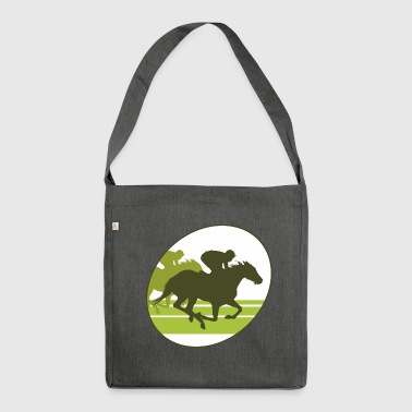 Gallop, horse , stallion, mare - Shoulder Bag made from recycled material