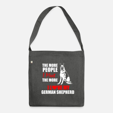 Shepherd German Shepherd / German Shepherd. - Shoulder Bag recycled