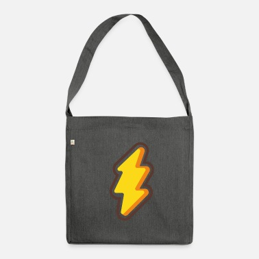 Lightning lightning - Shoulder Bag recycled