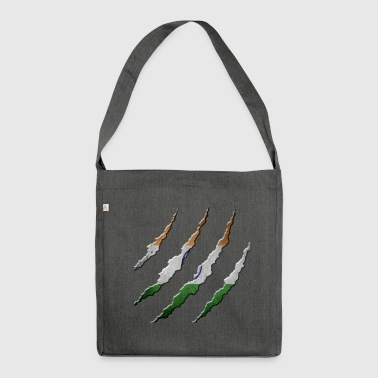 Indien - Schultertasche aus Recycling-Material