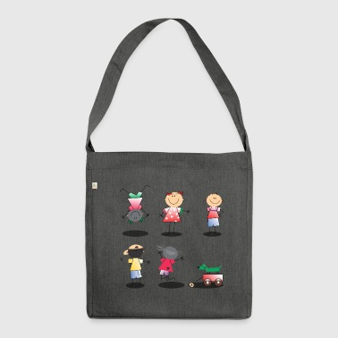 Children children - Shoulder Bag made from recycled material