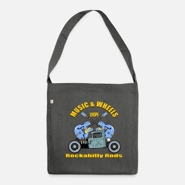 Rockabilly rockabilly - Borsa in materiale riciclato