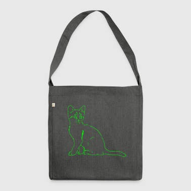 Cat, cat, cat - Shoulder Bag made from recycled material