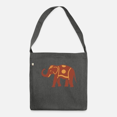 Big Big Elephant - Shoulder Bag made from recycled material
