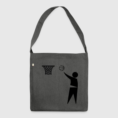 Basketball Trash - Sac bandoulière 100 % recyclé