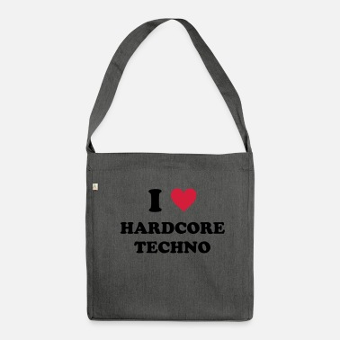 Hard Core AMO TECHNO HARD-CORE - Bandolera de material reciclado