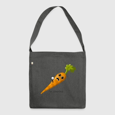Sherlock carrot - Shoulder Bag made from recycled material