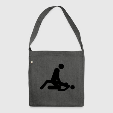 Sex Position Sex positions - Shoulder Bag made from recycled material