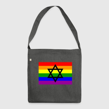 Jewish gay Pride - Shoulder Bag made from recycled material