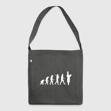Evolution Cooking! Boss! Cook! Cook! - Shoulder Bag made from recycled material