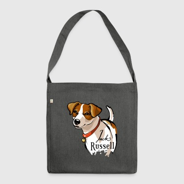 Jack Russell - Schultertasche aus Recycling-Material