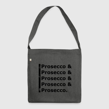 Prosecco & Prosecco - Shoulder Bag made from recycled material