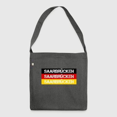 STADT SAARBRÜCKEN, GERMANY - Shoulder Bag made from recycled material