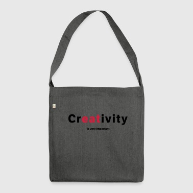 creativity - Shoulder Bag made from recycled material