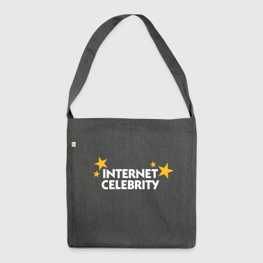 Internet Celebrity - Shoulder Bag made from recycled material