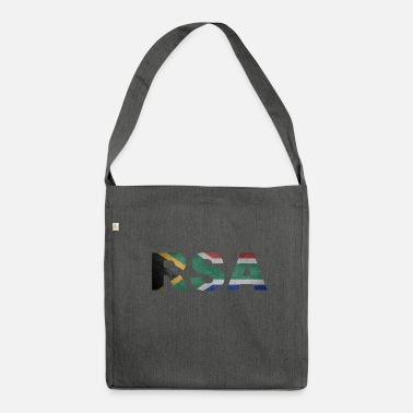 South Africa RSA Republic of South Africa South Africa Africa - Shoulder Bag made from recycled material