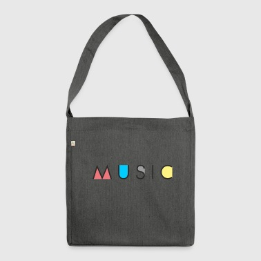 Music / Music - Shoulder Bag made from recycled material