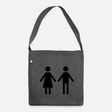 Couple couple - Shoulder Bag recycled