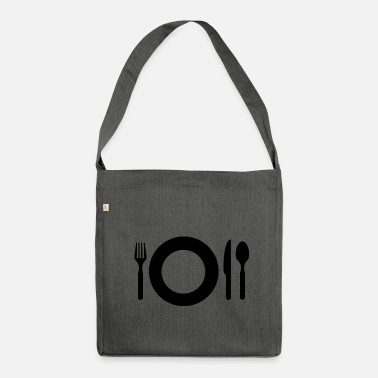 Meal meal - Shoulder Bag made from recycled material