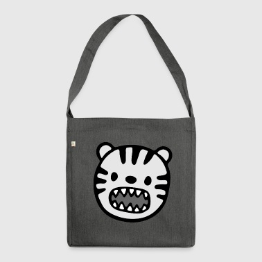 Adorabile animale illustrazione - Borsa in materiale riciclato