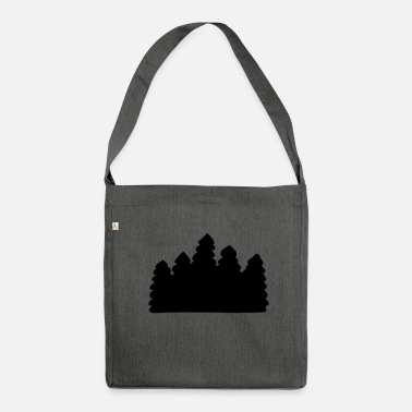 Foresta foresta - Borsa in materiale riciclato