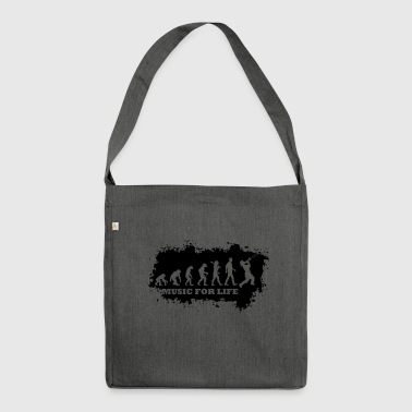 Evolution Of Jazz - Schultertasche aus Recycling-Material