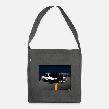 Initial Initial D Drifting Akina - Shoulder Bag made from recycled material