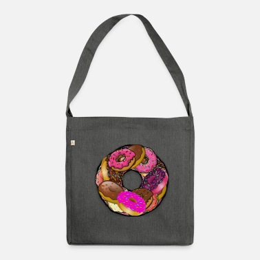 Donut ☆ Donut of Donuts ☆ - Shoulder Bag made from recycled material