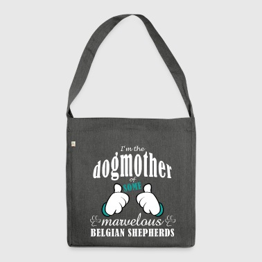 Dogmother of some Belgian Shepherds - Shoulder Bag made from recycled material