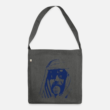 Sheik with microphone. - Shoulder Bag made from recycled material