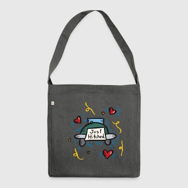 Just Married Just Hitched - Schultertasche aus Recycling-Material