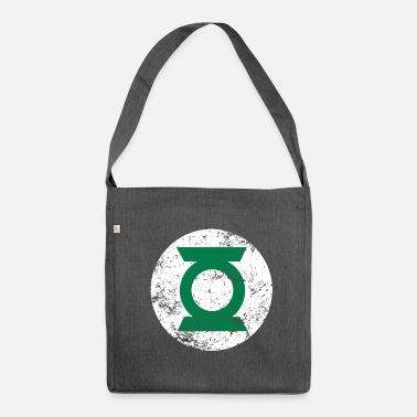 Officialbrands DC Comics Ligue De Justice D'Amérique Green Lante - Sac bandoulière 100 % recyclé