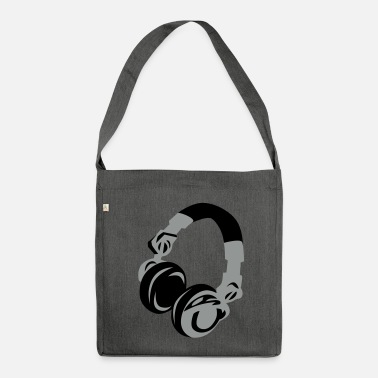 Dj DJ Headphones - Shoulder Bag made from recycled material